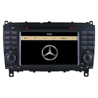 Autoradio GPS Mercedes Benz CLK et CLS