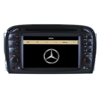 Autoradio GPS Mercedes Benz Classe SL R230 de 2001 à 2008