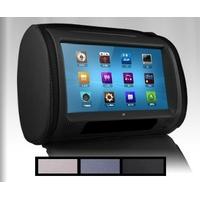 """2 Appui-têtes Ecran Tactile 9"""" Lecteur DVD intégré, USB, carte SD"""