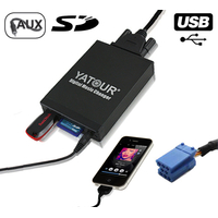 Interface Usb Mp3 iPod Auxiliaire (Bluetooth) Citroen RD3 - Citroen C3, C4, C5, C8 et Xsara