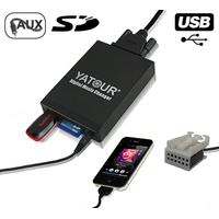 Interface Usb Mp3 iPod Auxiliaire (Bluetooth) Seat Altea, Altea XL, Leon, Toledo, Exeo & Ibiza (12pin)