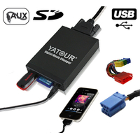 Interface Usb Mp3 iPod Auxiliaire (Bluetooth) Audi (Connecteur 8pin) - Audi A2, Audi A3, Audi A4, Audi A6, Allroad, Audi A8, Audi TT