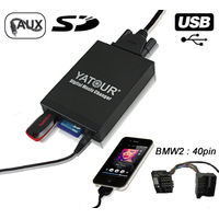 Interface Usb Mp3 iPod Auxiliaire (Bluetooth) Mini Cooper et One avec autoradio CD BOOST