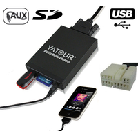 Interface Usb Mp3 iPod Auxiliaire (Bluetooth) HON2.4 Honda Accord, Civic, CR-V, Element, Odyssey, Pilot, Fit, S2000 & Legend