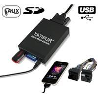 Interface Usb Mp3 iPod Auxiliaire (Bluetooth) Renault (Quadlock) - Clio 3 Megane 3 Scenic Laguna 3 Espace Trafic Twingo Fluence
