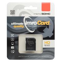 Carte mémoire MicroSD/SD 4Go