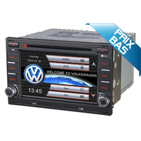 Autoradio GPS Volkswagen Golf 4, Lupo, Polo avant 2009, Passat avant 2004 - Façade Noire