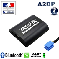 Kit Mains libres Bluetooth téléphonie & streaming audio pour Citroën RD3 - Citroën C3, C4, C5, C8 et Xsara