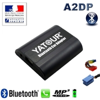 Kit Mains libres Bluetooth téléphonie & streaming audio pour Audi (Connecteur 8pin) - Audi A2, Audi A3, Audi A4, Audi A6, Allroad, Audi A8, Audi TT