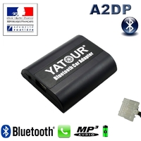 Kit Mains libres Bluetooth téléphonie & streaming audio pour Mazda 2, Mazda 3, Mazda 5, Mazda 6, MX-5, CX-7, RX-8, Tribute, Mazda 323, Premacy