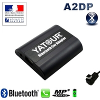 Kit Mains libres Bluetooth téléphonie & streaming audio pour Suzuki Swift 6, Grand Vitara, Jimny, SX4 (autoradios Clarion)