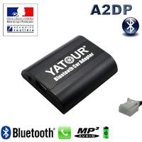 Kit Mains libres Bluetooth téléphonie & streaming audio pour Toyota (connecteur 6+6)