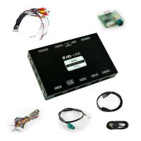 Interface HD-LINK avec entrées HDMI, Mirrorlink, Navigation GPS et caméra de recul pour Skoda Octavia et Volkswagen Polo & Golf 7
