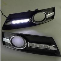 Feux de jour à 4 LEDs (DRL) pour Volkswagen Passat CC de 2009 à 2013
