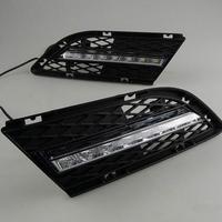 Feux de jour à 7 LEDs (DRL) pour BMW Serie 3 E90 de 2010 à 2012