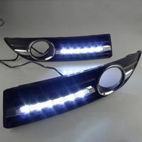 Feux de jour à 6 LEDs (DRL) pour Volkswagen Polo de 2005 à 2010