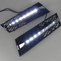 Feux de jour à 7 LEDs (DRL) pour BMW Serie 5 F10 & F18 de 2010 à 2013