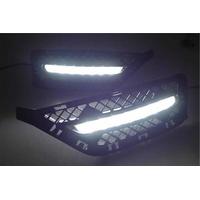Feux de jour à 7 LEDs (DRL) pour BMW X1 E84 de 2013 à 2015