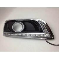Feux de jour à 15 LEDs (DRL) pour Chevrolet Malibu de 2011 à 2014