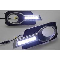 Feux de jour à 5 LEDs (DRL) pour Volkswagen Tiguan de 2010 à 2013