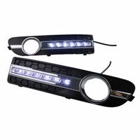 Feux de jour à 12 LEDs (DRL) pour Volvo S80 de 2009 à 2013