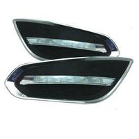 Feux de jour à 5 LEDs (DRL) pour Volvo S60 de 2011 à 2013