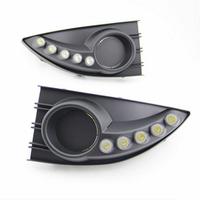 Feux de jour à 5 LEDs (DRL) pour Renault Fluence de 2011 à 2012