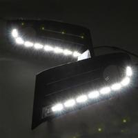 Feux de jour à 8 LEDs (DRL) pour Citroën C4 de 2012 à 2014
