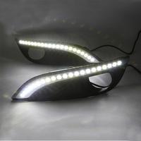 Feux de jour à 10 LEDs (DRL) pour Peugeot 308 de 2012 à 2014