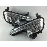 Feux de jour à 10 LEDs (DRL) pour Peugeot 508 de 2011 à 2014