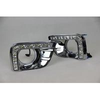 Feux de jour à 8 LEDs (DRL) pour Toyota Land Cruiser Prado de 2012