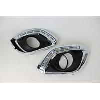 Feux de jour à 6 LEDs (DRL) pour Opel Antara de 2012 à 2013