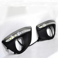 Feux de jour à 9 LEDs (DRL) pour Hyundai Santa Fe de 2010