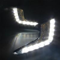 Feux de jour à 10 LEDs (DRL) pour Kia Rio de 2011 à 2014