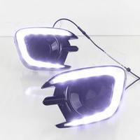 Feux de jour à 10 LEDs (DRL) pour Mitsubishi Pajero depuis 2013
