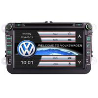 Autoradio GPS Volkswagen Golf 5,  Golf 6, Beetle, Eos, Touran, T5, Tiguan, Polo, Caddy, Passat, Jetta, Amarok, Sharan - Ecran tactile 8 pouces