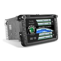 """Autoradio GPS Skoda Octavia, Fabia, Roomster et Rapid - Ecran 8"""""""