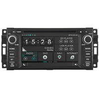 Autoradio GPS DVD écran tactile Jeep Commander, Grand Cherokee, Liberty et Wrangler