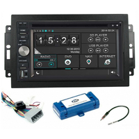 Autoradio GPS DVD tactile Jeep Commander, Compass, Grand Cherokee, Patriot & Wrangler avec REJ d'origine