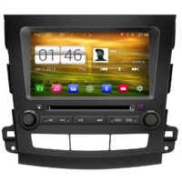 Autoradio GPS Wifi Bluetooth Android Citroën C-Crosser Peugeot 4007 et Mitsubishi Outlander