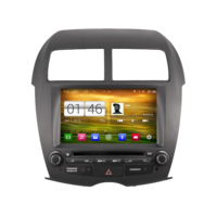 Autoradio GPS Wifi Bluetooth Android Mitsubishi ASX depuis 2010, Citroën C4 Aircross & Peugeot 4008
