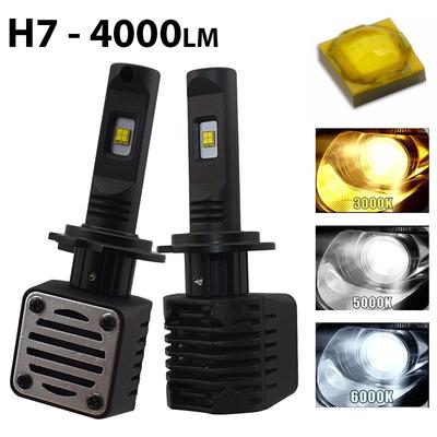 2 x ampoules h7 led 40w 4000 lumens driver integr hightech privee. Black Bedroom Furniture Sets. Home Design Ideas