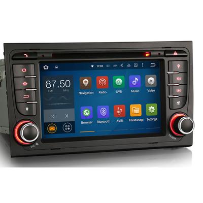 autoradio gps waze android 8 0 tactile audi a4 payez en 4 fois hightech. Black Bedroom Furniture Sets. Home Design Ideas