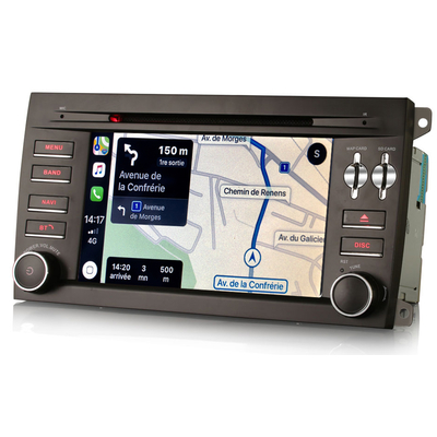 Autoradio tactile GPS Android 10.0 et Apple Carplay Porsche Cayenne de 2003 à 2010