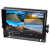 """Moniteur écran 23cm (9"""") LCD avec 4 entrées vidéos RCA"""