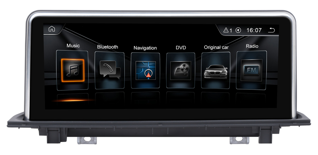 autoradio gps wifi grand cran tactile 10 pouces bmw x1 f48 hightech privee. Black Bedroom Furniture Sets. Home Design Ideas