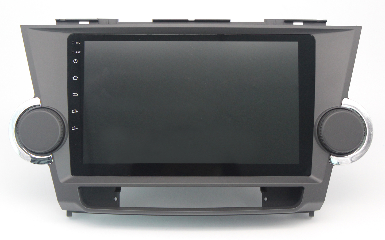 ecran tactile android auto carplay gps waze usb toyota highlander. Black Bedroom Furniture Sets. Home Design Ideas