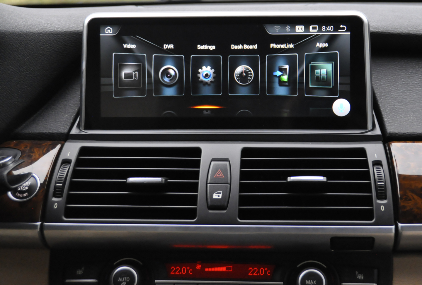 autoradio android gps cran tactile bmw x5 e70 et x6 e71. Black Bedroom Furniture Sets. Home Design Ideas