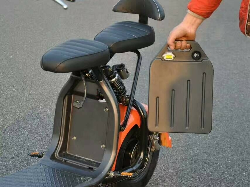 citycoco batterie amovible scooter lectrique 1000w 45km h. Black Bedroom Furniture Sets. Home Design Ideas