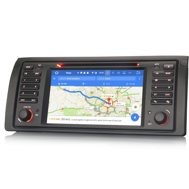 autoradio gps android 8 0 cran tactile bmw x5 e53 et s rie 5 e39 hightech. Black Bedroom Furniture Sets. Home Design Ideas